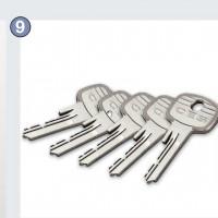 В комплекте 5 ключей